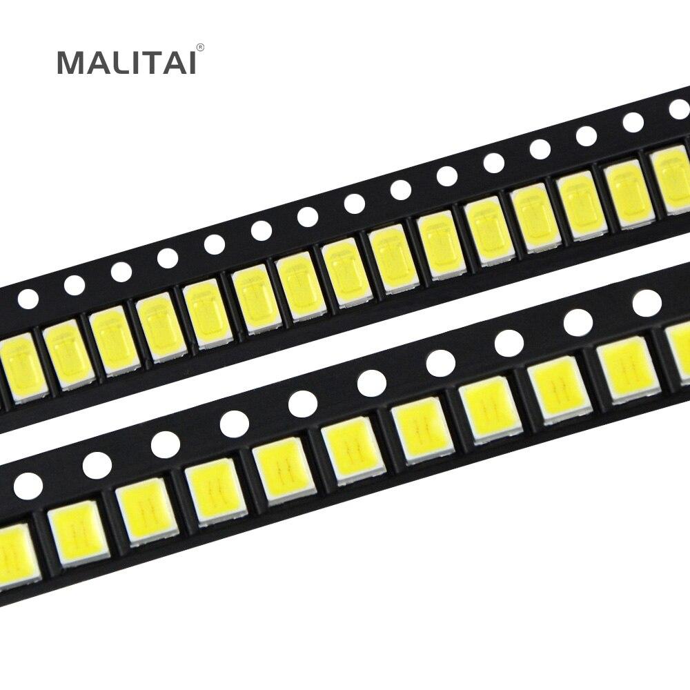0.5W SMD 5730 2835 5050 LED Light Bead 40-45lm White/Warm White SMD LED lamp Beads LED Chip DC3.0-3.6V for LED Corn Light Bulb g12 7w 650lm 7000k 56 smd 2835 led white light corn lamp white silvery grey ac 100 265v