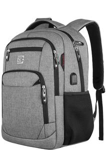 Image 1 - Laptop Backpack 15.6 Unisex Fits Inch Business Travel Anti Theft Slim Durable Backpack with USB Charging Port Water School Bag