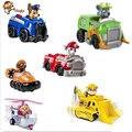 6 pçs/set Canino Cão de Patrulha Russo Brinquedos Anime Figuras de Ação Boneca Filhote de cachorro de Brinquedo Do Carro Patrulha Canina Patrulla Juguetes Presente para criança