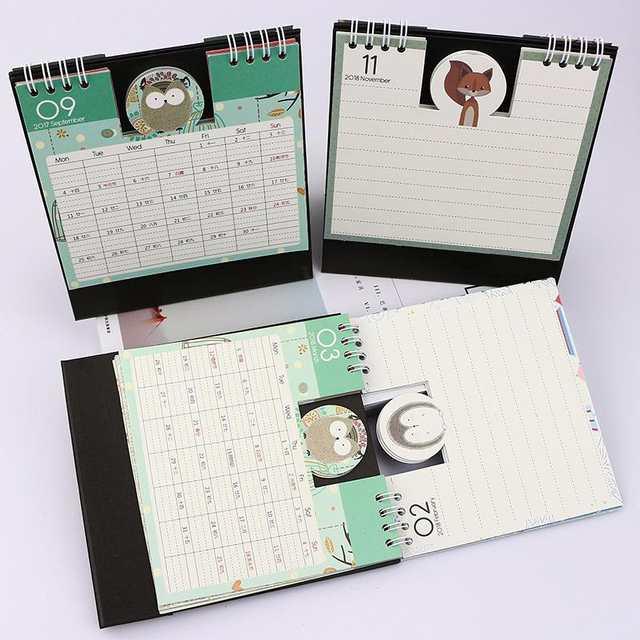 Online Shop Cobee Cute Kawaii Desk Calendar Schedule Planner Cute