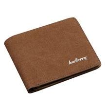 Baellerry мужской двойной кожаный бумажник ID кредитный держатель для карт кошелек клатч бизнес