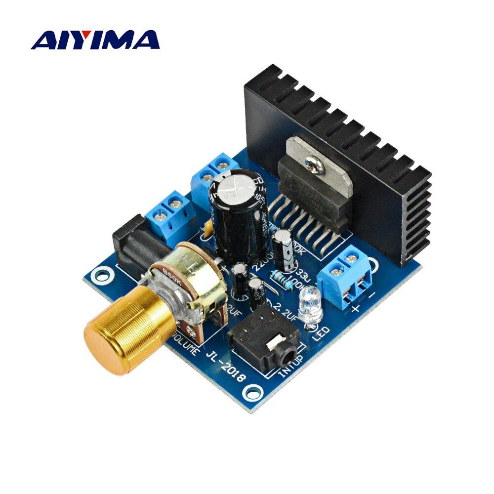Aiyima TDA7297 Audio Amplifier Board Amplificador Stereo Dual-channel Digital Amplifier Board 15W+15W For 2.0 Bookshelf Speaker
