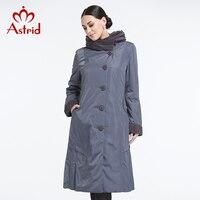 Astrid 2014 Women S Coat High Quality Spring Winter Autumn Trench Slim Hooded Fleece Falbala Lapel