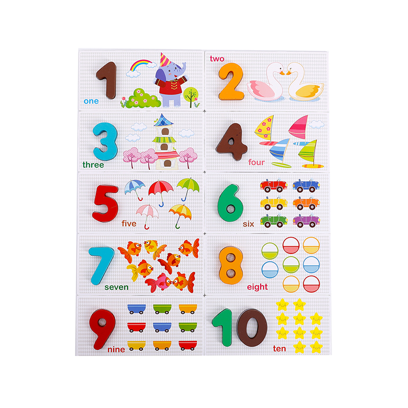 US $11 97 |Wooden Calculator Digital Card 3 Year Old Children's Toy Digital  Pairing Early Learning Enlightenment Recognition Numbers-in Math Toys from