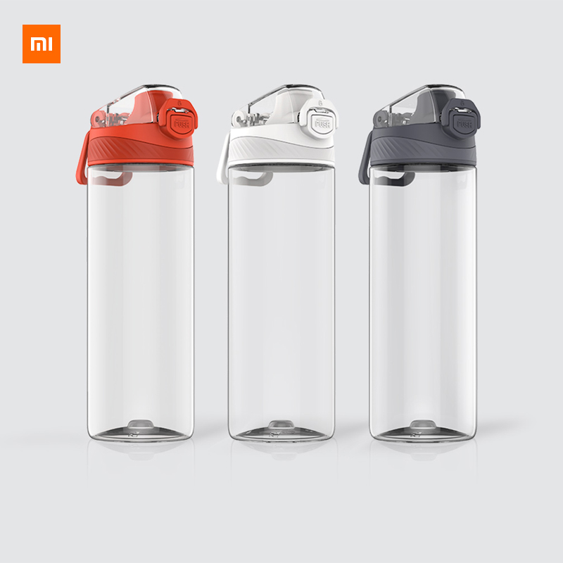 Xiaomi Tritan Sports Cup 480ML 620ML Safety Lock Non toxic and Tasteless Resistance To Falling Travelling Sports Running Bottle-in Smart Remote Control from Consumer Electronics