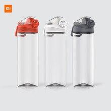 Youpin тритана спортивная чашка 480 мл 620 мл, безопасный замок, нетоксичный и безвкусовый, устойчивость к падению, путешествия, спорт, бег, бутылка