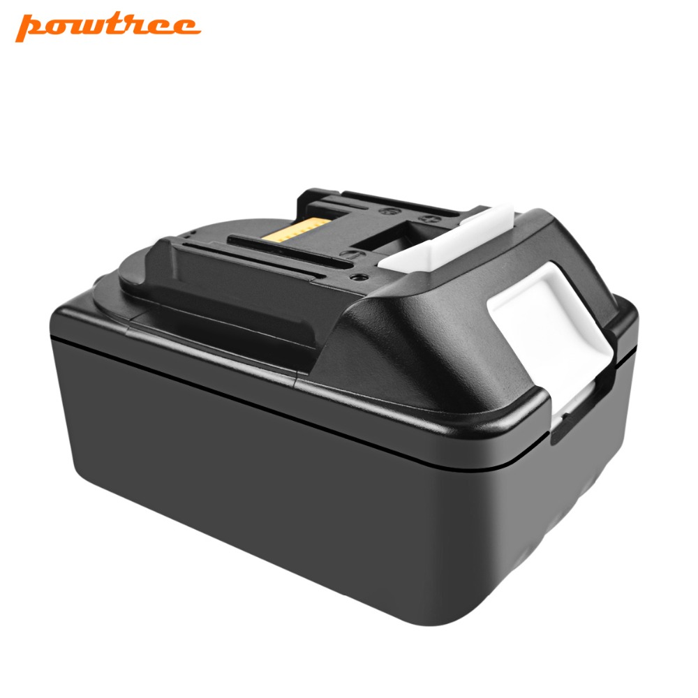 Powtree For Makita BL1830 18V 4000mAh Lithium Power tools battery replacement BL1815 BL1840 LXT400 194204 5