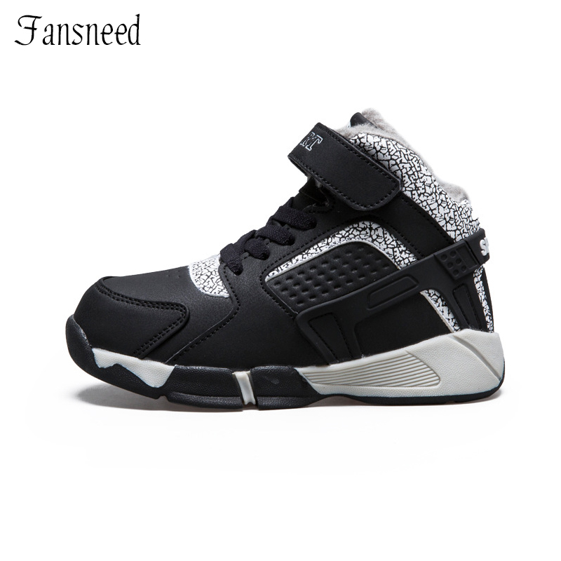 2018Winter new childrens shoes casual boys cotton shoes sports childrens snow boots plus ...