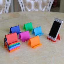 Портативный пластиковый настольный фиксированный Универсальный держатель для сотового телефона, подставка для планшета, Органайзер Домашний для хранения, аксессуары
