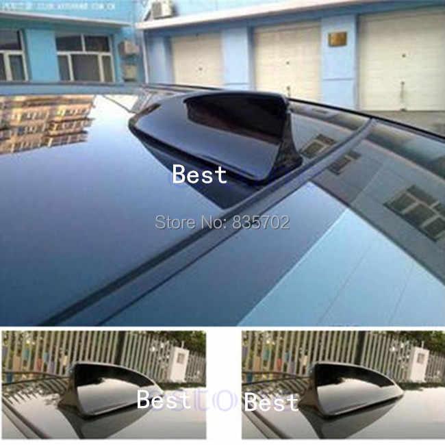 Newbee العالمي صالح السيارات سيارة زعانف سمك القرش الدمية هوائي الزخرفية أسود لاصق الجوي ل BMW فولكس فاجن فورد هوندا سكودا تويوتا كيا