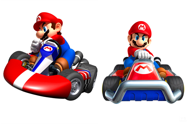 Custom Canvas Art Super Mario Kart Wallpaper Mario Poster