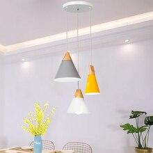 [Ygfeel] Moderne Eetkamer Hanglamp 3 Heads Ronde/Rechthoek Plafond Plaat Indoor Woonkamer Slaapkamer Decoratie lamp