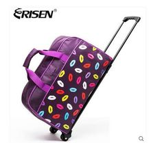 2016 brand Women Travel Luggage Trolley bag on wheels Travel Suitcase Men Rolling Bags Men Luggage Travel Case Travel Tote