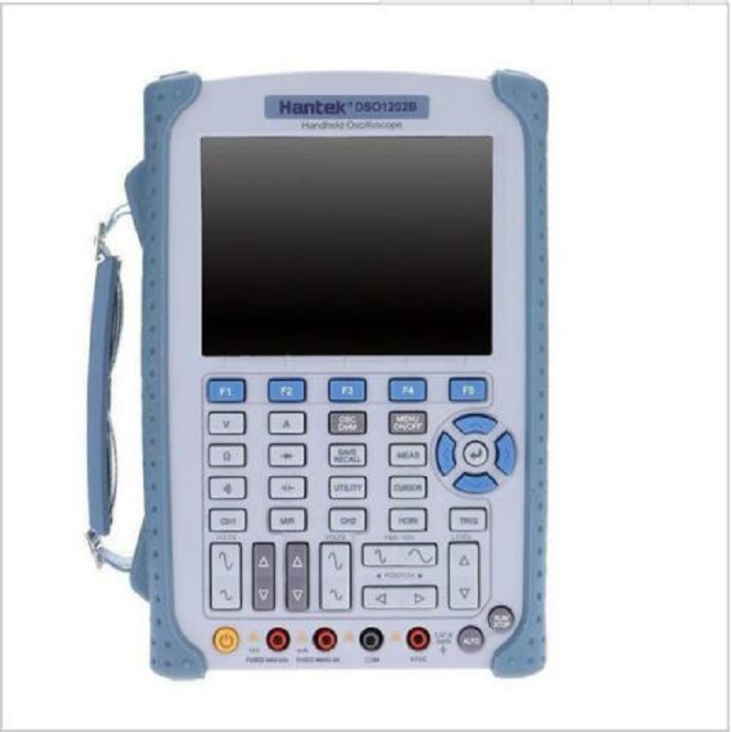 <font><b>Hantek</b></font> 2 Channels Digital Handheld Oscilloscope Multimeter 60/100/200MHz 1Gsa/S image
