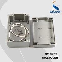 160*100*65 ملليمتر حجم الصناعية للماء الألومنيوم مربع/الكهربائية الألومنيوم ضميمة مع CE ، بنفايات (SP FA26)-في صناديق توصيل الأسلاك من تجميل المنزل على