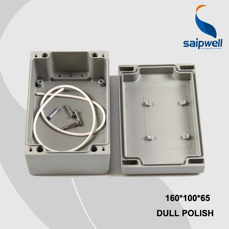 160*100*65mm Size Industrial Waterproof Aluminium Box / Electrical Aluminium Enclosure With CE,ROHS (SP-FA26)