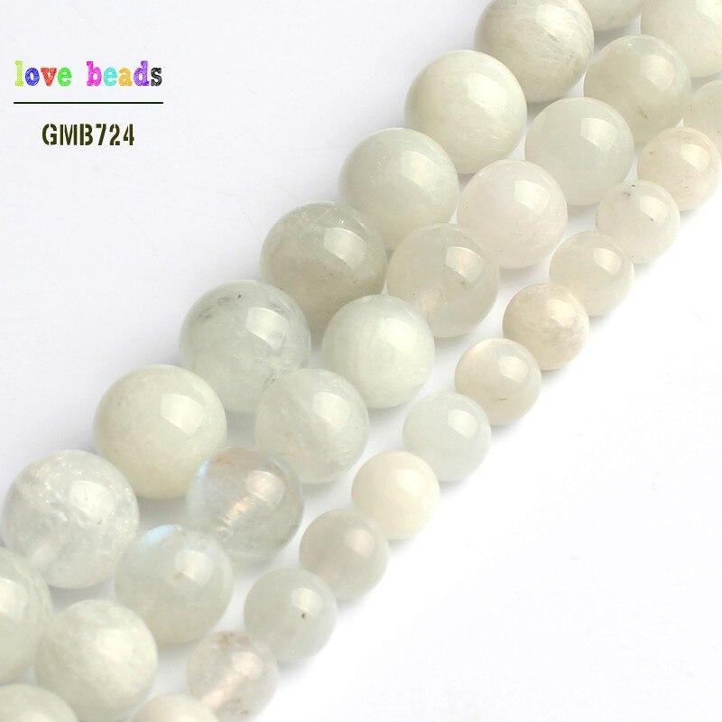 "12MM Genuine Natural Sunstone Grade AAA Round Gemstone Loose Beads 15.5/"""