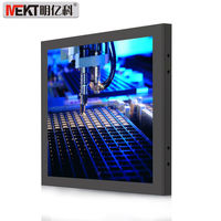 15 Inch 1000 Nits High Brightness Lcd Monitor With Resistive Touch Screen Hdmi Dvi Input Industrial