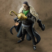 26cm ONE PIECE ONEPIECE P.O.P DX Shichibukai Sir Crocodile Action Figure Model Toys Dolls Anime Cartoon collection gift