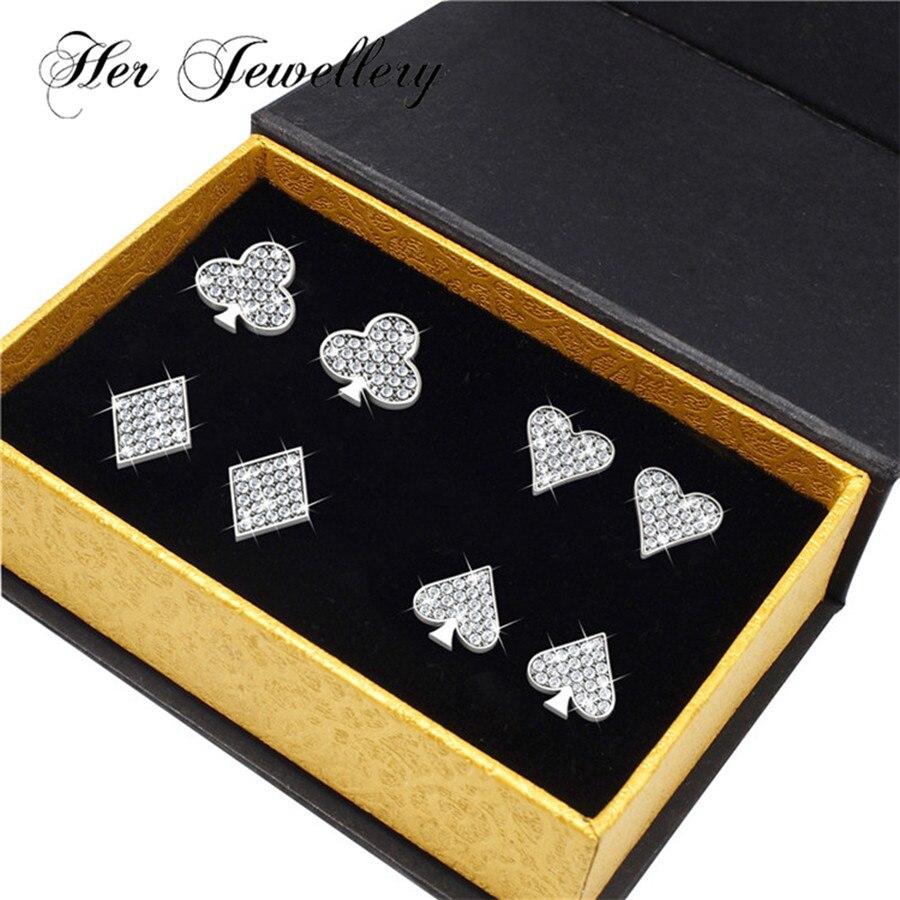 Ses bijoux femmes ensemble de bijoux femmes accessoires faits avec des cristaux de Swarovski HS058