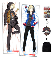 Hobby Express Yurii Plisetsky - Yuri on Ice Male Anime Dakimakura Japanese Hugging Body Pillow Cover ADP612072