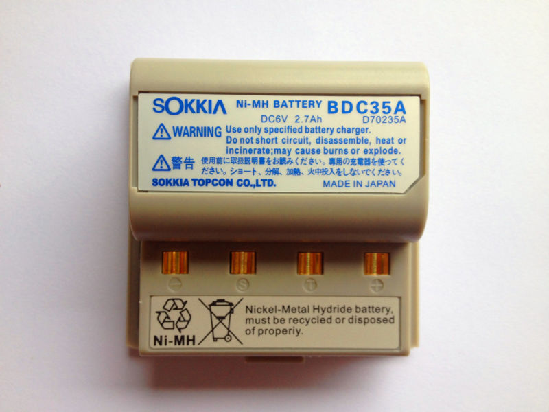 NEW SOKKIA BDC35A EQUIVALENT BATTERY FOR SOKKIA TOTAL STATION цены