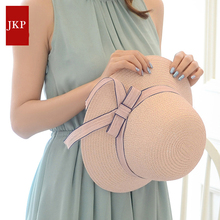 JKP new Summer ladies fashion hat fisherman cap casual woman outdoor straw caps travel beach sun hat wholesale discount MZ-06