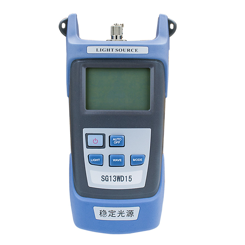 Factory price Hand-held SG13WD15 Fiber optic laser Red light source, 1310/1550nm FTTH Fiber Tester communication instrument