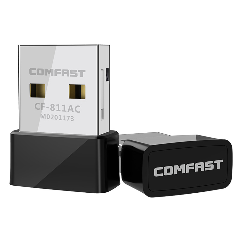 Mini Wireless USB Wifi Adapter Receiver 650Mbps 2.4+5 Ghz USB Wifi 802.11n/g/b/ac Network Card For Desktop PC Wi-fi Dongle