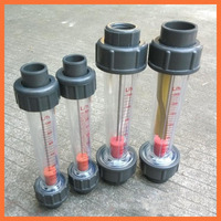 LZS 50 0 4 4m3 H Plastic Tube Type Series Rotameter Flow MeterTools Measurement Analysis Flow