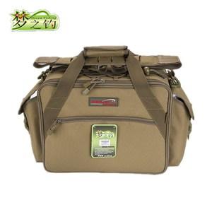 Image 5 - Dream Fishing Multifunctional Fishing Bag 47*29*21cm Large Capacity  Fishing Reel Bag 1200D Waterproof Nylon Tackle Bagpack