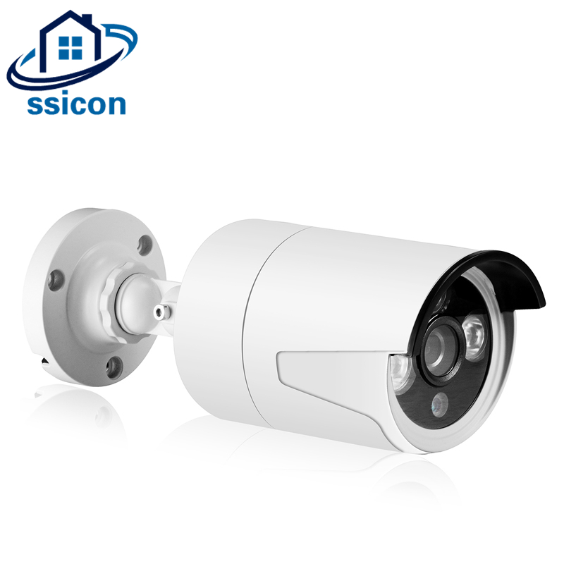 SSICON Waterproof 2MP 4MP 3.6mm Lens Mini H.265 Bullet IP Camera Outdoor IR Distance 20M Home Security CCTV Camera IP wistino cctv camera metal housing outdoor use waterproof bullet casing for ip camera hot sale white color cover case