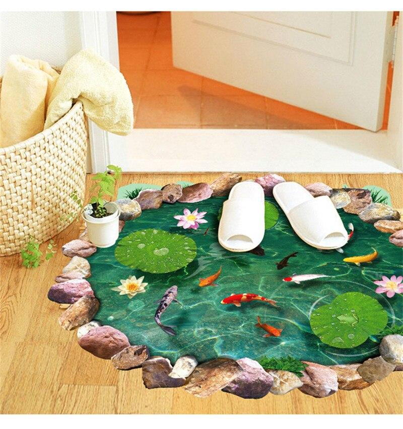 ⊱2016 estanques de peces Lotus piso revestimientos 9260 dormitorio ...