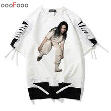 Billie Eilish harajuku t shirt hip hop oversize Tops SF