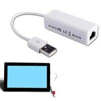 Etmakit USB Ethernet Adaptateur Usb 2.0 Carte réseau USB vers Internet RJ45 Lan 10Mbps pour Mac OS Android Tablette LapPC Windows 7 8