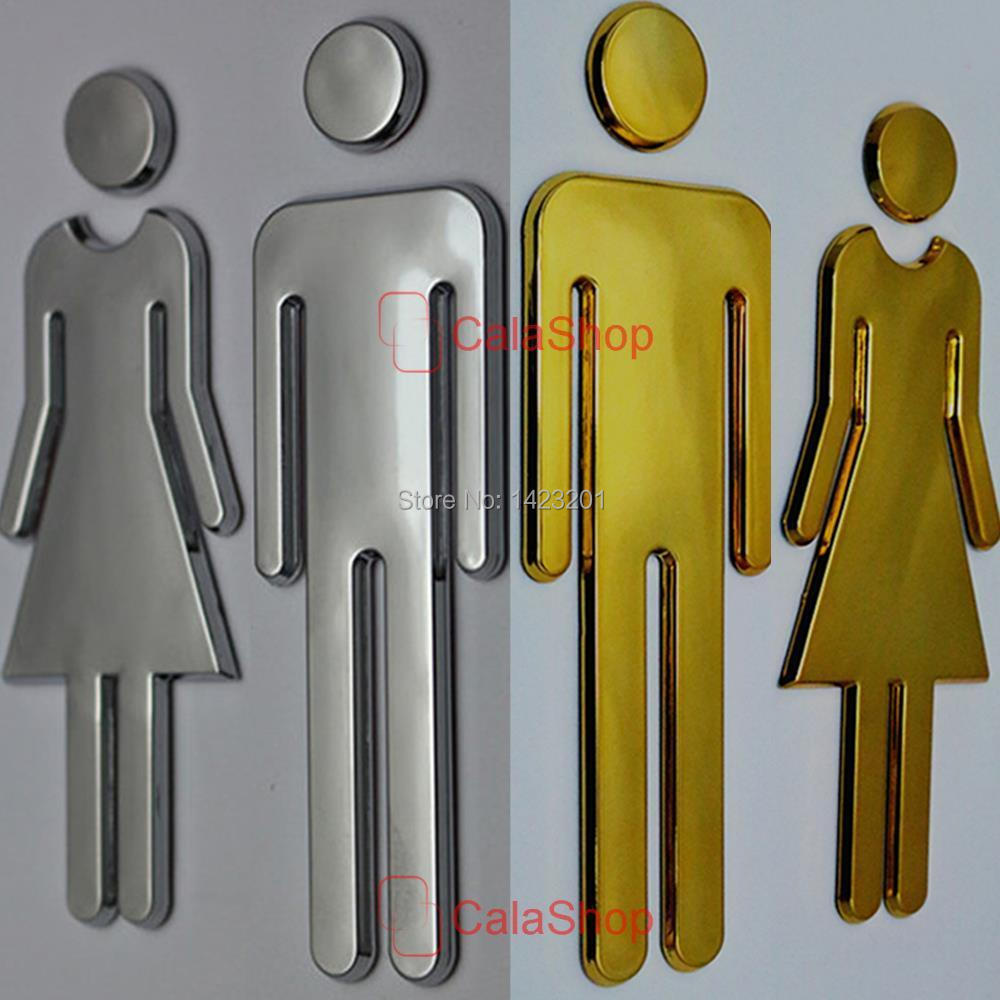 1 Pcs   Lot 200mmx65mm Restroom Sign Bathroom Sign Modern Adhesive Backed  Men   Women Unisex. Popular Unisex Bathroom Signs Buy Cheap Unisex Bathroom Signs lots