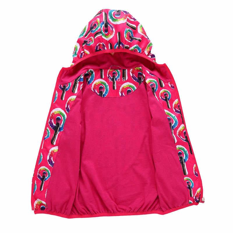 חדש אביב סתיו אופנה תינוק בני בנות מעילים להאריך ימים יותר בנות עמיד למים windproof מעילי רך