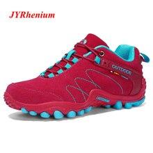 купить 2019 New High Quality Women Hiking Shoes Men Mountain Shoes Trekking Shoes Climbing Sport Sneakers Zapatillas Outdoor Hombre дешево
