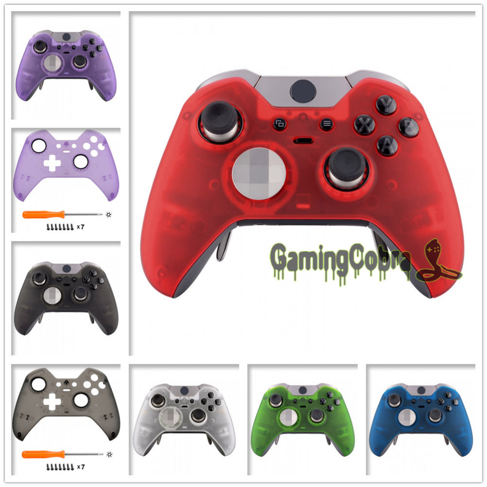 Consumer Electronics Foggy Clear Soft Touch Faceplate Front Housing Shell For Xbox One Elite Controller W/ Accent Rings Xoep009x 13x 14x 15x 16x 17x Profit Small