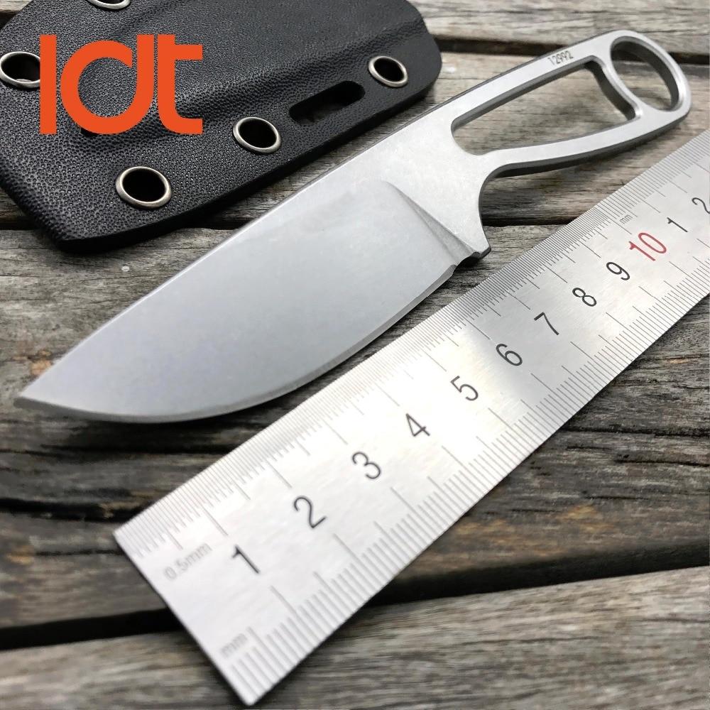 LDT Rowen Ant 12992 Cuchillo de hoja fija Cuchillos tácticos de Kerambit Cuchilla D2 KYDEX Cuchillo de caza de camping Herramientas rectas de bolsillo EDC