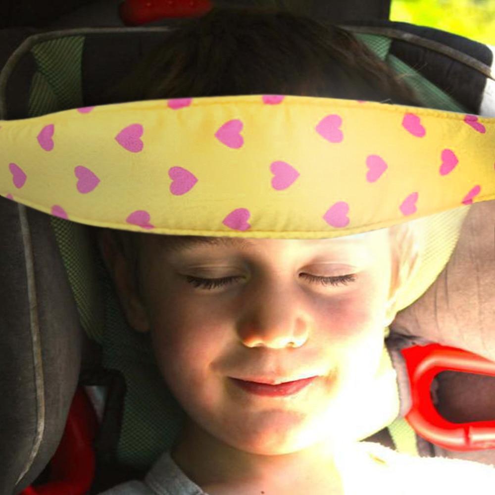 1PC Playpens Sleep Positioner Pram Stroller Safety Seat Fastening Belt Yellow car