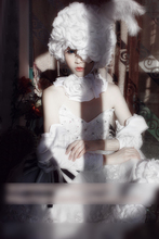 Anime Black Butler Doll Princess Wire White Gothic Lolita Dress Cosplay Costume Full set Custom made Halloween Costume for women