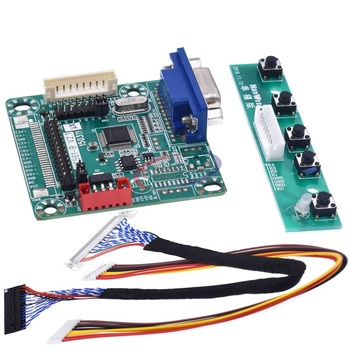 "MT561-B MT561B Universal LVDS LCD Montor controlador de pantalla tablero 5V 10 ""-42"" Laptor piezas de ordenador DIY Kit"