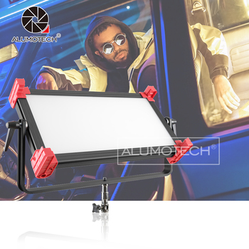 ALUMOTECH 120W GRBWY Colorful Light 2700K~9999K CRI95 Dimming LED Light For Studio Photography