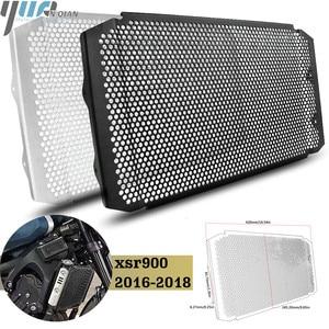 Image 1 - XSR900 16 18 אופנוע חלקי אלומיניום רדיאטור גריל משמר הגנת כיסוי עבור ימאהה XSR900 XSR 900 2016 2017 2008 שחור