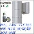 Alumínio cinza parede path luzes de fixação 5 w E27 LED spot luzes 2700 - 3000 k de alumínio die - fundição corpo