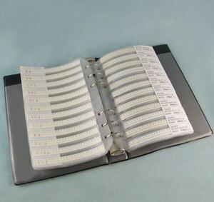 170valuesX50pcs=8500pcs 0201 1% 0R-10M ohm SMD Resistor Kit RC0201 FR-07 series Sample Book Sample Kit Fuse