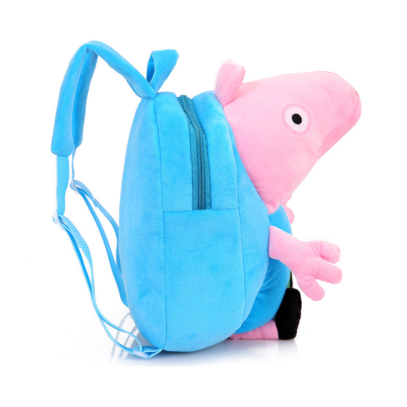 Lovely-Children-Plush-Cartoon-Bags-Kids-Backpack-Children-School-Bags-3D-Pig-Bags-For-Boys-Girls-Brinquedos-Kids-Toys-5-Colors-2