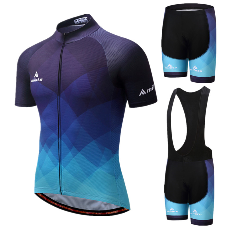 2019 Bike Team Cycling Jersey Sets Ropa Ciclismo mtb Bicycle Cycling Clothing Men Maillot Ciclismo Cycling Wear Bike Clothes