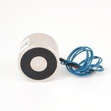 Eletroímã de solenoide, alta qualidade, 10kg, 30/22 dc, 6v, 24v, 12v, ventosa de solenóide, suporte elétrico, aceitar não-padrão personalizado